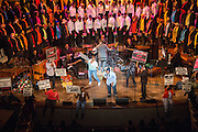 Robert J. Johnson performs a medley during the 30th Annual Black Music & the Civil Rights Movement Concert at the Morton H. Meyerson Symphony Center in Dallas, Texas, on January 20, 2013.  (Stan Olszewski/The Dallas Morning News)
