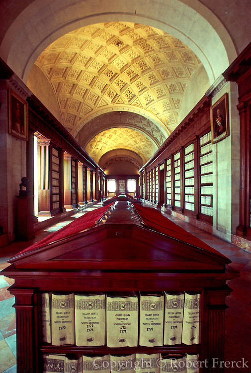 SPAIN, ANDALUSIA, SEVILLE the 'Archives of the Indies', grand library founded in 1785, to house documents relating to the New World