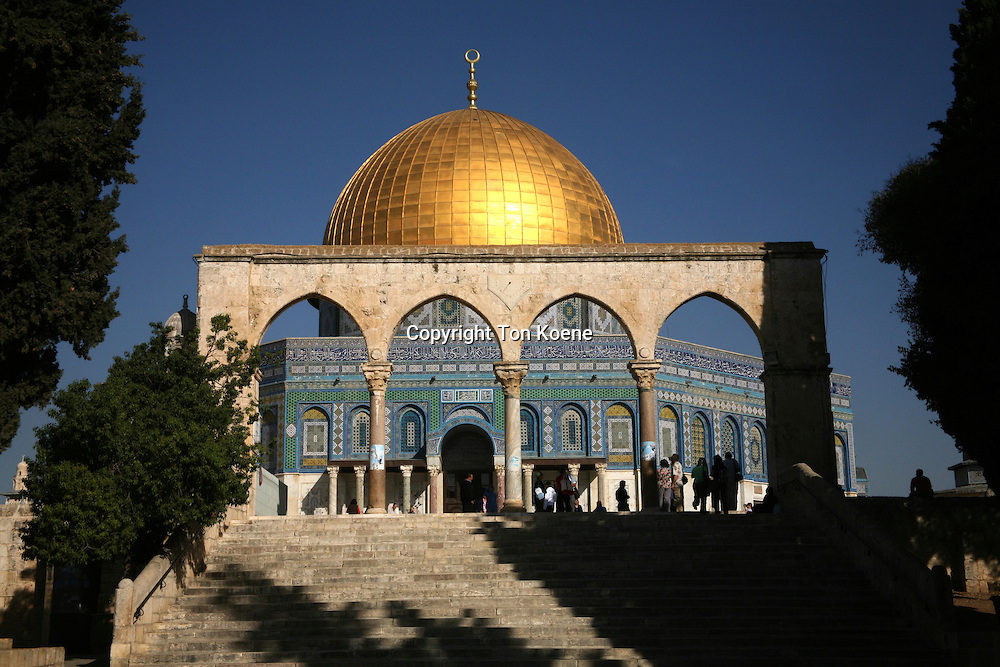 The El Aqsa mosque in Jerusalem