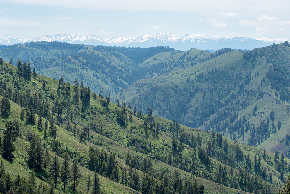 Joseph Canyon and the Wallowa Mountains, Oregon.