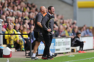Burton Albion manager Nigel Clough during the EFL Sky Bet Championship match between Burton Albion and Brighton and Hove Albion at the Pirelli Stadium, Burton upon Trent, England on 17 September 2016.