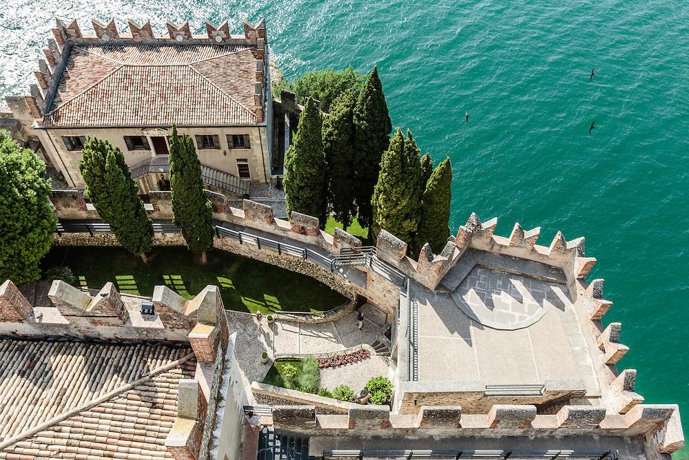 21 JUN 2012 - Malcesine (VR) - Lago di Garda - Il Castello Scaligero.