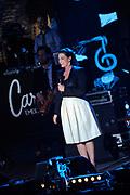 Uitreiking van de 3FM Awards 2013 in de Gashouder op het Westergasterrein, Amsterdam.<br /> <br /> Op de foto:  Caro Emerald