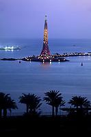 29/April/2013 Saudi Arabia. Jeddah<br /> Night view of KAUST<br /> <br /> ©JOAN COSTA