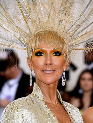 Celine Dion attending the Metropolitan Museum of Art Costume Institute Benefit Gala 2019 in New York, USA.