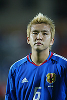 Junichi Inamoto (JPN), MARCH 31, 2004 - ƒTƒbƒJ[/football : <br /> 2006 FIFA World Cup Germany <br /> Preliminary Competition -Asia Zone- Group3 <br /> between Singapore - Japan <br /> at Jaran Besar Stadium, Singapore. <br /> (Photo by AFLO SPORT/Digitalsport<br /> Norway only