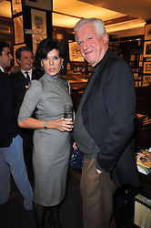 MARELLA OPPENHEIM and DR FRIEDRICH-CHRISTIAN FLICK  at a party to celebrate the publication of Maryam Sach's novel 'Without Saying Goodbye' held at Sotheran's Bookshop, 2 Sackville Street, London on 10th November 2009.