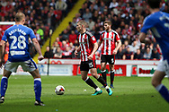Paul Coutts of Sheffield United during the English League One match at Bramall Lane Stadium, Sheffield. Picture date: April 30th, 2017. Pic credit should read: Jamie Tyerman/Sportimage