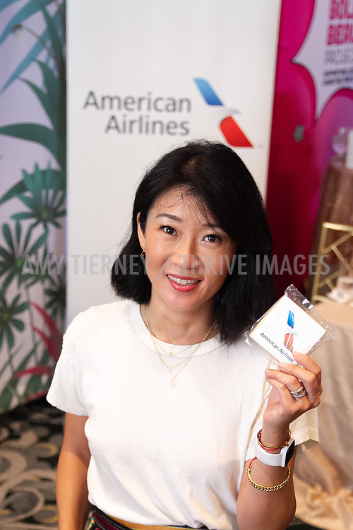 Step Up donor at American Airlines booth