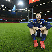 20180310 Rugby, Natwest 6 nations : Captain's run Italia