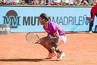 Spanish Rafa Nadal during Mutua Madrid Open Tennis 2017 at Caja Magica in Madrid, May 13, 2017. Spain.<br /> (ALTERPHOTOS/BorjaB.Hojas)