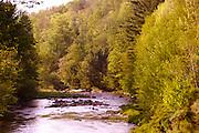 Northcentral Pennsylvania, Tioga River, Morris Run town, Tioga County