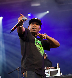 Dizzee Rascal performs on the main stage. Rockness, Saturday 13th June 2009..Pic © Michael Schofield. All Rights Reserved.