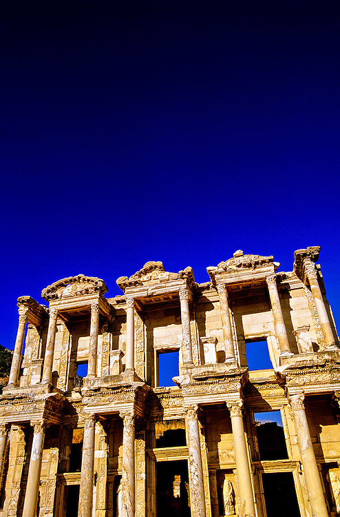 The Library of Celsus, Ephesus (Efes) archaeological site, Turkey