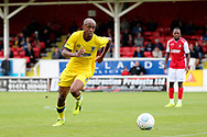 AFC Wimbledon Jimmy Abdou (8) chasing the ball during the Pre-Season Friendly match between Ebbsfleet and AFC Wimbledon at Stonebridge Road, Ebsfleet, United Kingdom on 29 July 2017. Photo by Matthew Redman.