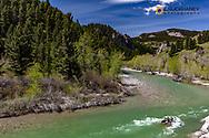 Dearborn River near Augusta, Montana, USA