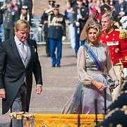 NLD/Den Haag/20180918 - Prinsjesdag 2018, Willem Alexander en Maxima