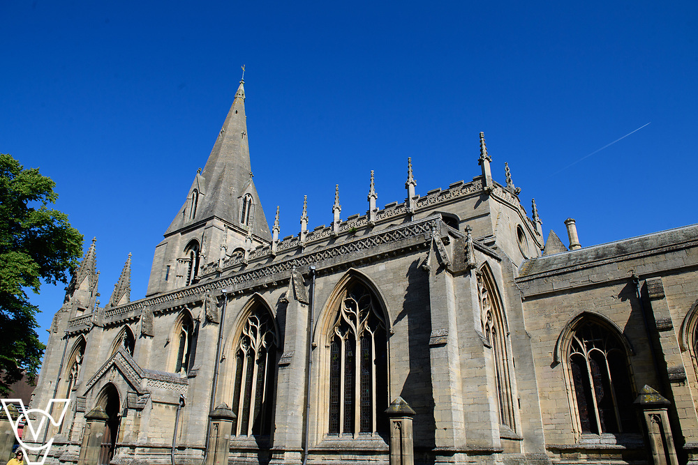 North Kesteven District Council (NKDC) stock images: St Denys' Church, Sleaford<br /> <br /> Picture: Chris Vaughan Photography for NKDC<br /> Date: June 25, 2018