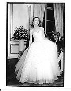 Alison Grade. Debutante show. Crillon Hotel. Paris. 1991. © Copyright Photograph by Dafydd Jones 66 Stockwell Park Rd. London SW9 0DA Tel 020 7733 0108 www.dafjones.com