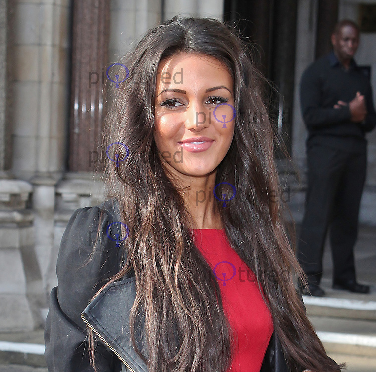 LONDON - October 06: Michelle Keegan at The Look Show 2012 (Photo by Brett D. Cove)