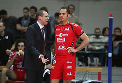 20190310 NED: Roberto Piazza new national coach Dutch volleyball team, Utrecht<br /> Roberto Piazza is the new national coach of Dutch volleyball players. The 51-year-old Italian signed a contract up to the Tokyo 2020 Olympic Games. Piazza is currently active as a club coach with the Polish champion PGE Skra Belchatow.