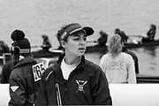 London. United Kingdom,  Crew member waiting to boat for the 2018 Women's Head of the River Race.  location Barnes Bridge, Championship Course, Putney to Mortlake. River Thames, <br /> <br /> Saturday   10/03/2018<br /> <br /> [Mandatory Credit:Peter SPURRIER Intersport Images]<br /> <br /> Leica Camera AG  LEICA M (Typ 262)  1/750 sec.  mm f.4.8 400 ISO.  24.7MB