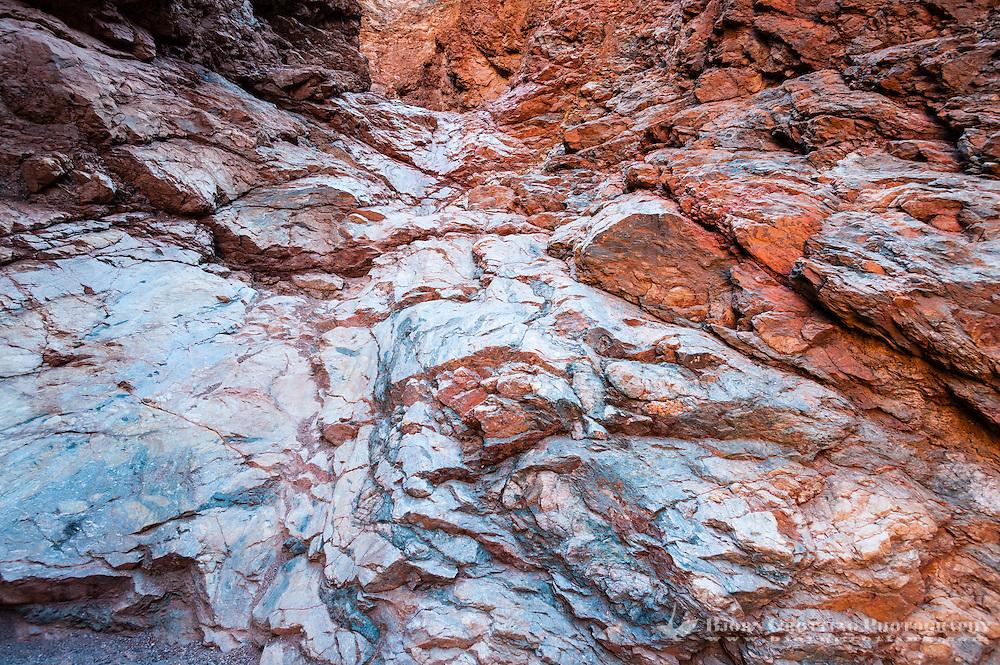 United States, California, Death Valley. Natural Bridge Canyon.