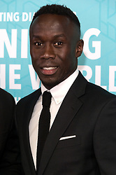 © Licensed to London News Pictures. 17/11/2017.  London, UK. BARCY SAGNA attends the Football For Peace Inaugural Ball held at Guildhall. Photo credit: Ray Tang/LNP