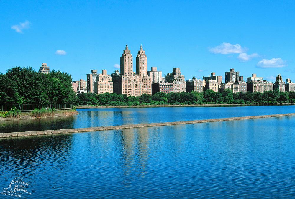 Reservoir, Central Park, Manhattan, New York