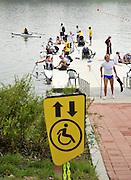 Chungju, South Korea. 2013 FISA World Rowing Championships, General Views of the  Tangeum Lake International Regatta Course. 08:47:59  Saturday  24/08/2013 [Mandatory Credit. Peter Spurrier/Intersport Images]