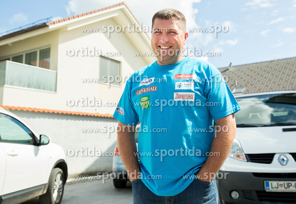 Mitja Kunc at departure of Slovenian Men Ski Team to training camp in Argentina and Chile on August 21, 2014 in SZS, Ljubljana, Slovenia. Photo by Vid Ponikvar / Sportida.com