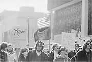 "1006-B039-21. ""Conspiracy. March. Hoffman. Burn. February 21, 1970"" (Abbie Hoffman was convicted of conspiracy on February 18)"