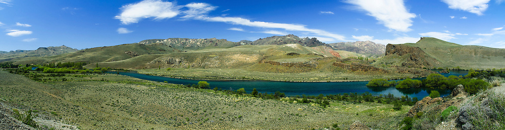 Rio limay, Bariloche, Argentina