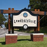 Lawrenceville Sign 01 - Lawrenceville, GA