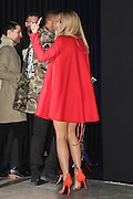 RITA ORA - ARRIVALS AT VERSACE FASHION SHOW - PARIS FASHION WEEK <br /> ©Exclusivepix Media
