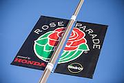 Rose Parade Flag Pasadena California