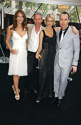 Left to right, LIZ HURLEY, PATRICK COX, DONNA AIR and DAVID FURNISH at the 2006 Glamour Women of the Year Awards 2006 held in Berkeley Square Gardens, London W1 on 6th June 2006.<br /><br />NON EXCLUSIVE - WORLD RIGHTS