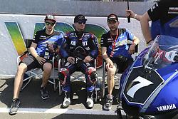 April 21, 2018 - Le Mans, SARTHE (72, FRANCE - 7 YART  YAMAHA ( AUT) YAMAHA YZF  R1 FORMULA EWC PARKES BROC (AUS) FRITZ MARVIN (GER) FUJITA TAKUYA(JPN) NEUKIRCHNER MAX  (Credit Image: © Panoramic via ZUMA Press)