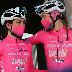 14-03-2021: Wielrennen: GP Oetingen: Oetingen: Elisa Balsamo: Vittoria Guazzini