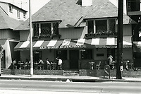 1973 Old World Restaurant on Sunset Blvd.