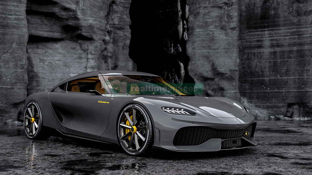 """Meet the $1.7 million hypercar - that has room for the kids. <br /> <br /> The Koenigsegg Gemera, unveiled Tuesday (3 Mar), is described as """"the world's first Mega-GT"""" and is the Swedish company's first four-seater. <br /> <br /> Limited in an edition of 300 cars and recommended for """"family trips"""", the Gemera is announced as """"an extreme megacar that meets spacious interior and ultimate environmental consciousness."""" <br /> <br /> """"Ultimate performance has belonged to the world of two-seaters with very limited luggage space – until now"""", says CEO and founder Christian von Koenigsegg. """"The Gemera is a completely new category of car where extreme megacar meets spacious interior and ultimate environmental consciousness. We call it a Mega-GT."""" <br /> <br /> The car seats four large adults comfortably with space catering to their carry-on luggage, meaning the Koenigsegg megacar experience can be shared with family and friends. <br /> <br /> Despite being a four-seater, the Gemera easily outperforms most two-seat megacars, both combustion and electric. Still, the focus of the Gemera is taking on long-range public roads – family trips, in comfort, style and safety with never-before-experienced performance.  <br /> <br /> With its 1.27 megawatts of power and 3500 Nm of torque, the Gemera goes from 0 to 100 km/h in 1.9 seconds and to 400 km/h in record matching pace. <br /> <br /> The Gemera comes with an evocative and deep-throated growl from its large displacement Freevalve 3-cylinder engine.<br /> <br /> MORE COPY: info@cover-images.com<br /> <br /> When: 03 Feb 2020<br /> Credit: Koenigsegg/Cover Images<br /> <br /> **Editorial use only**"""