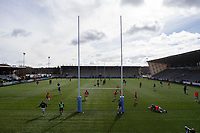 Rugby Union - 2020 / 2021 Gallagher Premiership - Round 13 - Newcastle Falcons vs Bath - Kingston Park<br /> <br /> A general view of Kingston Park <br /> <br /> Credit : COLORSPORT/BRUCE WHITE