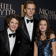 NLD/Amsterdam/20150126 - Premiere Michiel de Ruyter, Luca, Senna, Jada Maria Borsato