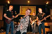 Yekaterinburg, Russia, 01/04/2006..Saturday night dance in Gordon's Scottish Music Pub.
