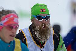 06-03-2016 SWE: Vasaloppet Challenge BvdGF day 7, Sälen<br /> Vandaag een rustig dagje, 90 km langlaufen van Sälen naar Mora in bizarre omstandigheden / Sporters, baard sneeuw ijs