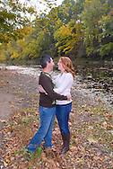 10/14/12 9:28:34 AM - Newtown, PA.. -- Amanda & Elliot October 14, 2012 in Newtown, Pennsylvania. -- (Photo by William Thomas Cain/Cain Images)
