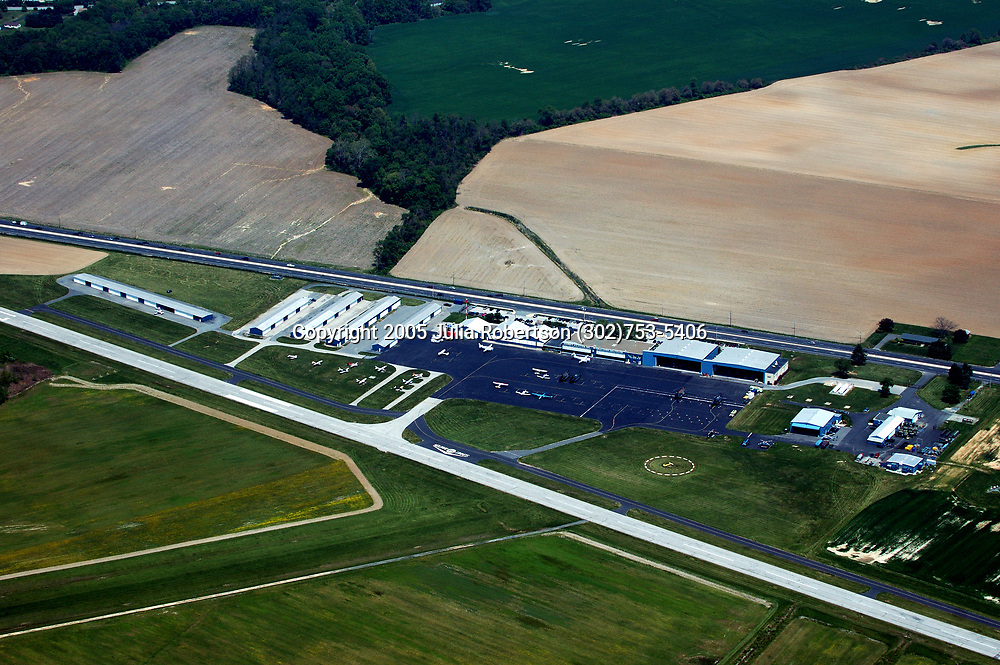 Aerial Photograph of Summit Airport, Delaware