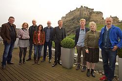 2016 Edinburgh International Film Festival, (left to right) David Sosson, Stephanie Gibson, Mark Percival (musician/writer), Emma Pollock (The Delgados) Paul Savage (The Delgados), Alex Kapranos (Franz Ferdinand), Niall McCann (writer/Director) Nicky Grogan (producer), Paul Walsh (producer), during the WORLD PREMIERE (DOCUMENTARY) LOST IN FRANCE, The Apex Hotel Grassmarket, Edinburgh16th June 2016, (c) Brian Anderson   Edinburgh Elite media<br /> <br /> Niall McCann (Director) <br /> Alex Kapranos (Musician)<br /> Emma Pollock (Musician)<br /> Paul Savage (Musician)<br /> Stewart Henderson (Musician)<br /> David Sosson (Musician)