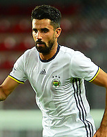 Friendly Match between Sparta Prague and Fenerbahce  at General Arena in Prague , Czech Republic on July 19 , 2016.<br /> Final Score : Sparta Prague 0 - Fenerbahce 0<br /> Pictured:  Alper Potuk of Fenerbahce.