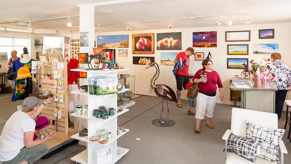 Gallery 148, Elbow, Saskatchewan.
